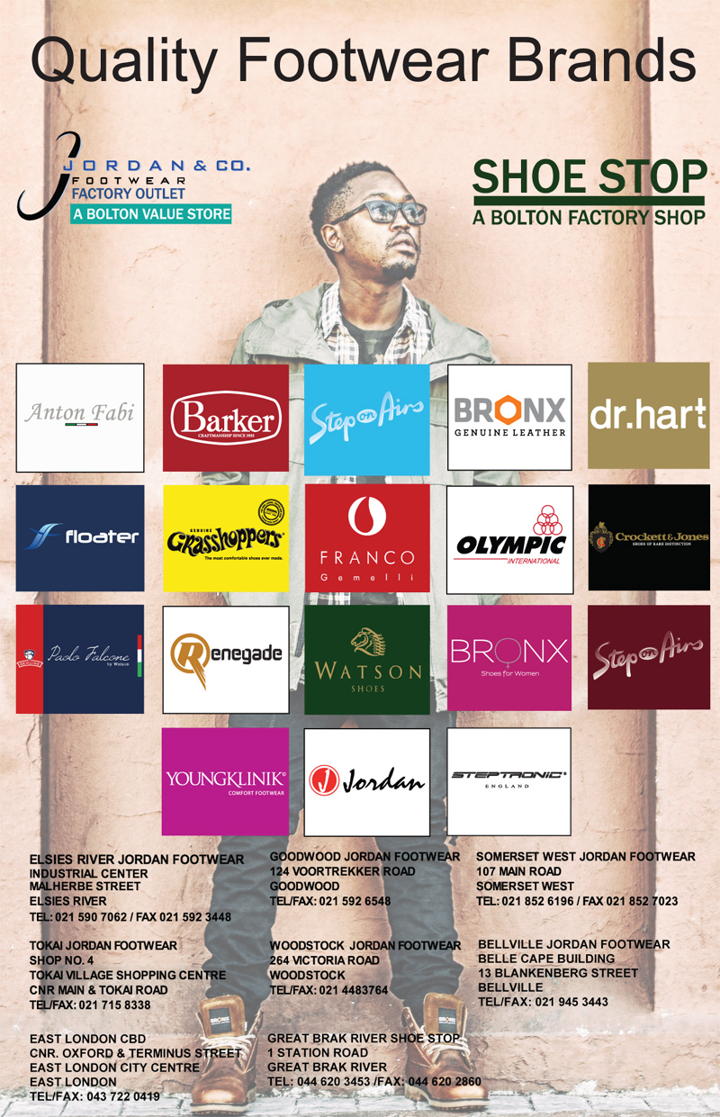 jordan footwear factory outlet bellville